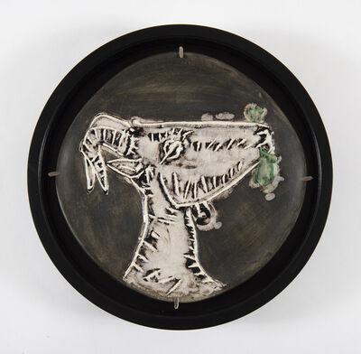 Pablo Picasso, 'Tête de chèvre de profil, (A.R.112)', 1950