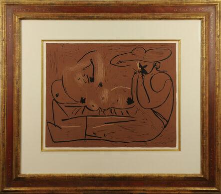 Pablo Picasso, 'L'Aubade avec Joueur d'Harmonica', 1959