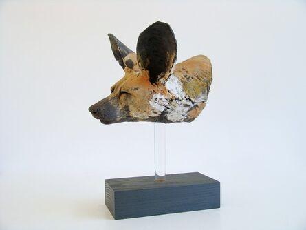 Nichola Theakston, 'Painted Dog Head Study', 2016