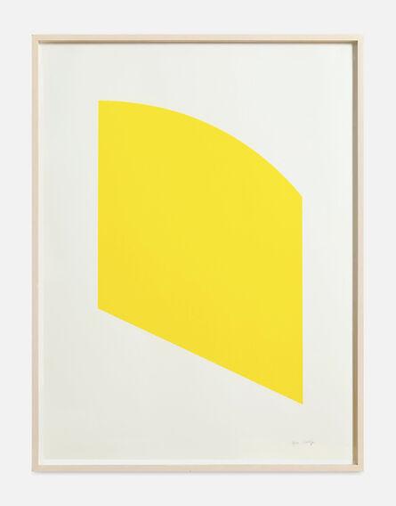 Ellsworth Kelly, 'Yellow', 2004