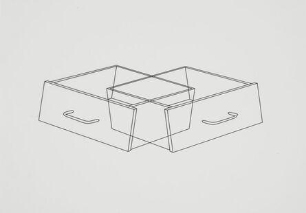 Michael Craig-Martin, 'Untitled (drawers 1)', 1990