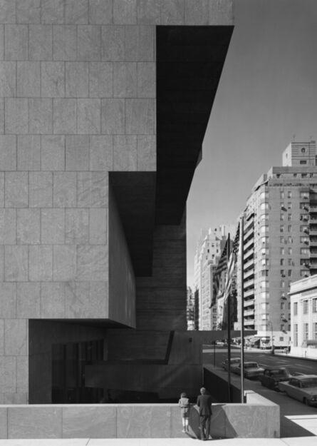 Ezra Stoller, 'Whitney Museum (now Frick Madison), Marcel Breuer, New York, NY', 1966