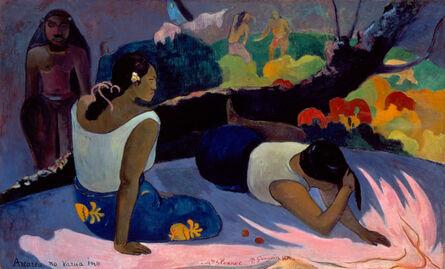 Paul Gauguin, 'Reclining Tahitian Women', 1894