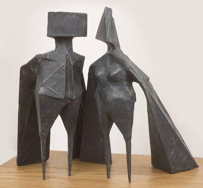 Lynn Chadwick, 'Maquette VIII, Two Winged Figures ', 1973