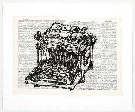 William Kentridge, 'Universal Archive (Ref. 61)', 2012