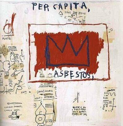 Jean-Michel Basquiat, 'Per Capita - Set I', 1983/2001
