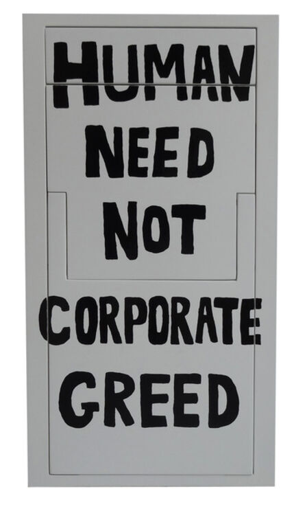 Sebastian Errazuriz, 'Human need not corporate greed (Protest Chair)', 2013