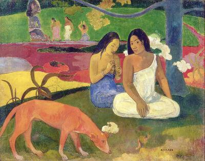 Paul Gauguin, 'Arearea (Joyousness (I))', 1892