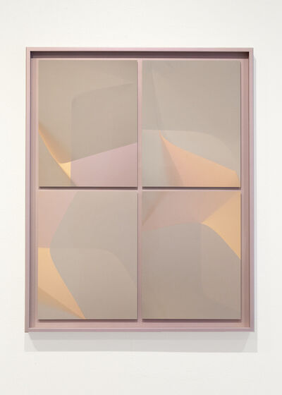 Rachelle Bussières, 'Courbes, taupe (18 heures)', 2019