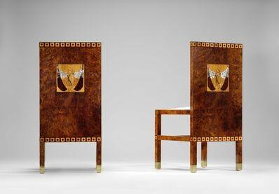 Koloman Moser, 'Pair of deckchairs', 1901