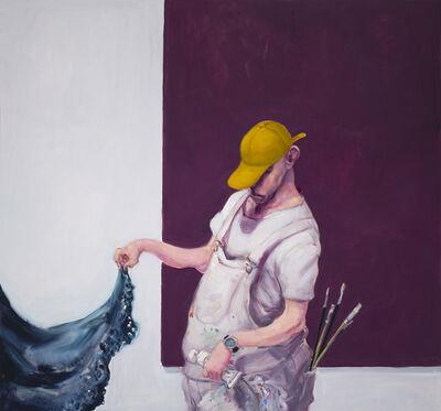 Michael Kvium, 'The Amusing Muse and the Painter', 2013