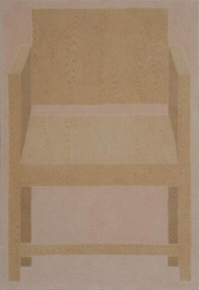 Johnny Izatt-Lowry, 'Pigment on crepe', 2020