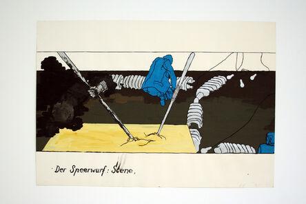 Bruno Gironcoli, 'Der Speerwurf', 1970-1972