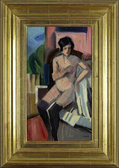 Claude Lacaze, 'Nude with Stockings', 20th century