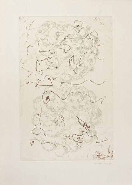 Max Ernst, 'Sans titre (Les chiens ont soif)', 1964