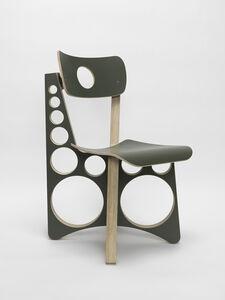 Tom Sachs, 'Shop Chair (Olive Drab)', 2019