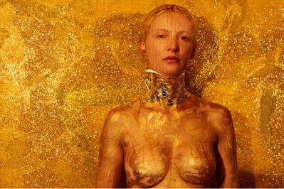 Vicky Steckel, 'Gold Digger Body Imprint', 2016