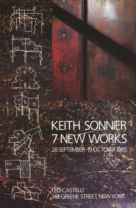 Keith Sonnier, '7 New Works', 1985