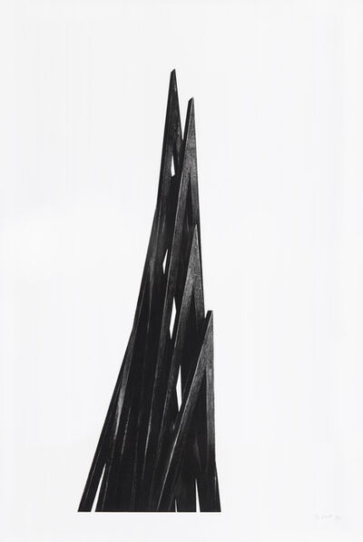 Bernar Venet, '9 Acute Uneven Angles', 2017