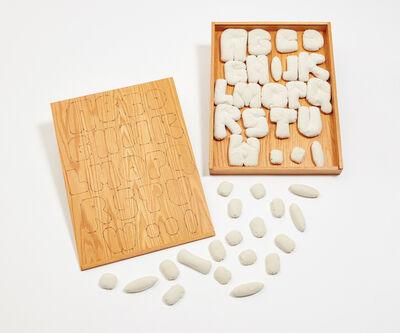 Claes Oldenburg, 'Soft Alphabet', 1978