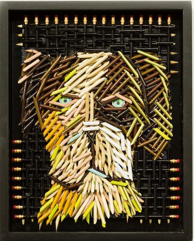 Federico Uribe, 'Green Eyed Dog', 2016