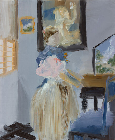 Elise Ansel, 'Small Oil Study for After Vermeer', 2015