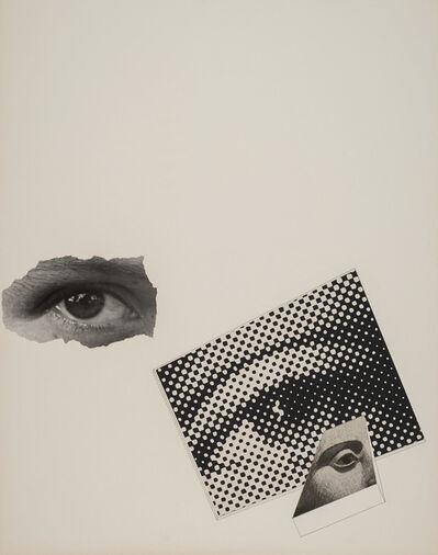 Gyorgy Kepes, 'Untitled (Photo montage: three eyes)'