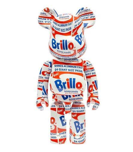 BE@RBRICK, ' Bearbrick Andy Warhol Brillo 1000%', 2021