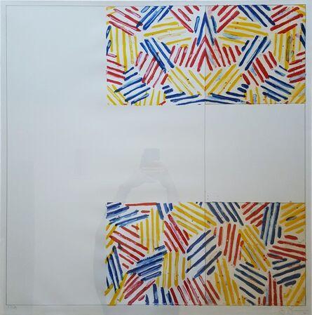 Jasper Johns, '#2 (after 'Untitled 1975')', 1976