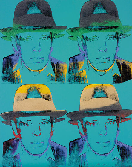 Andy Warhol, 'Joseph Beuys', 1980-83