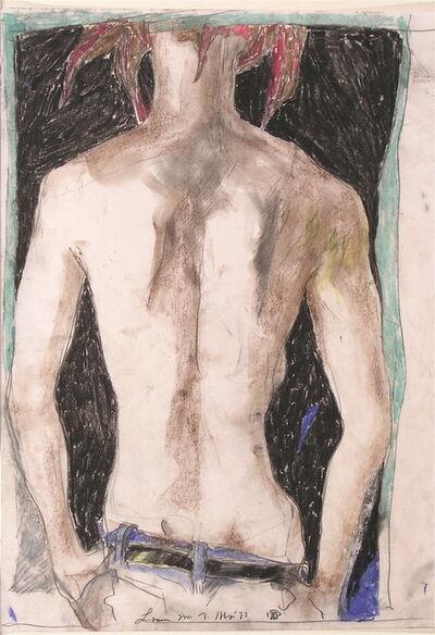 Horst Janssen, 'Lamme 's Back', 1993