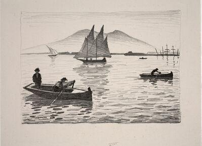 Albert Marquet, 'The Port of Naples (Le Port de Naples), Plate VI from L'Album de lithographies originales', 1924