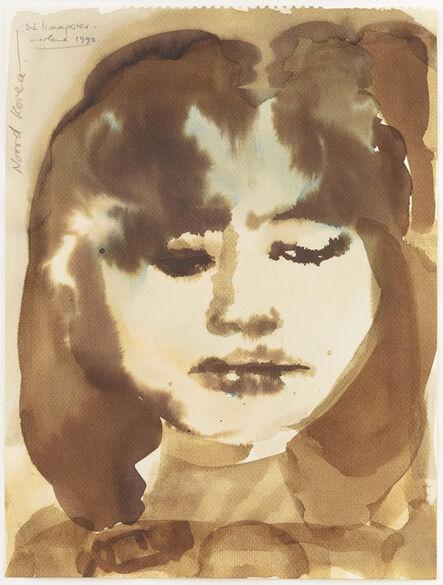 Marlene Dumas, 'Die Kaapster', 1990