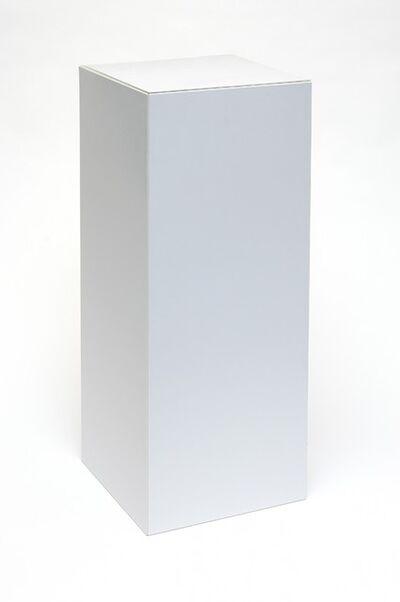 Peter Saville, 'Flat Pack Plinth', 2013