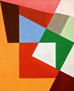 Cícero Dias, 'Composition - Espace', 1953