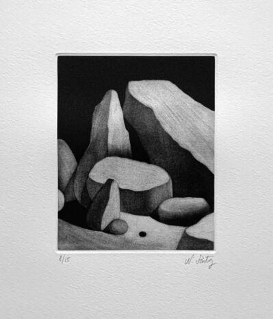 Nicolas Party, 'Rocks II, Landscape', 2016
