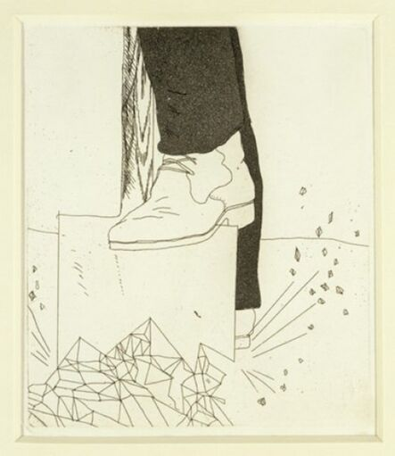 David Hockney, 'Digging up Glass from Illustrations for Six Fairy Tales from the Brothers Grimm,', 1969-1970
