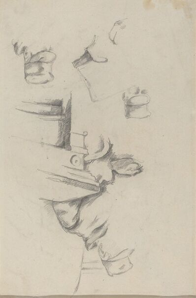 Paul Cézanne, 'Father of the Artist [verso]', ca. 1865/1870