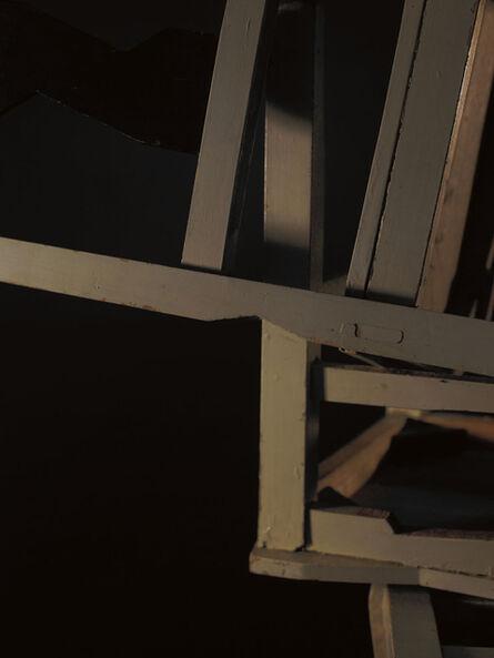 João Penalva, 'Spaces between 5 chairs I', 2008
