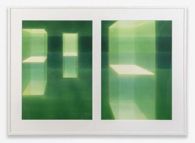 Lauretta Vinciarelli, 'Suspended in Green 1a and 1b', 2005
