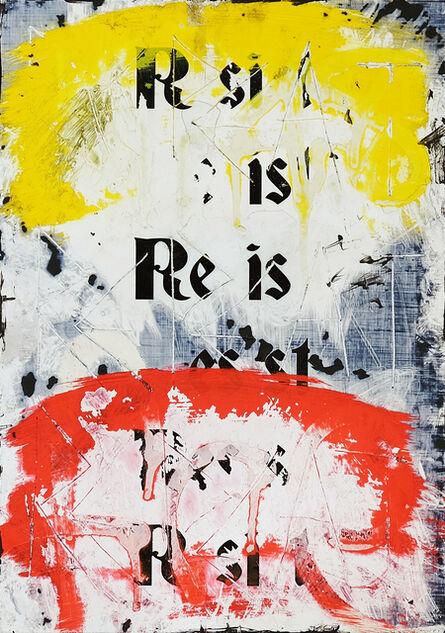 Zavier Ellis, 'Resist (Repeat) I (Freiheit)', 2021