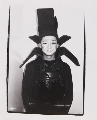 Andy Warhol, 'Andy Warhol Photograph of Benjamin Liu (Ming Vase)'