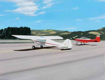Gabe Fernandez, 'Two Red Planes', 2020