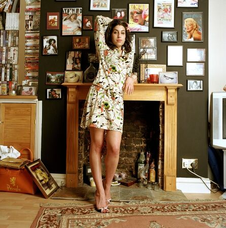 Mark Okoh, 'Amy at her home in Camden town', 2004