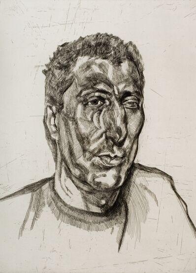 Lucian Freud, 'Head of Ali', 1999