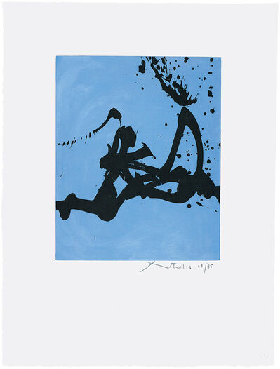 Robert Motherwell, 'Gesture III', 1977