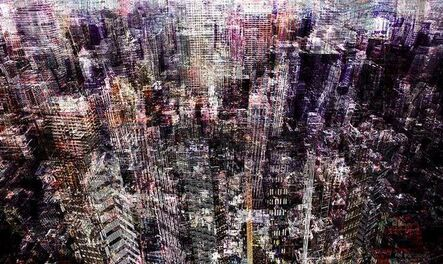 Young Sam Kim, 'Congested City', 2017