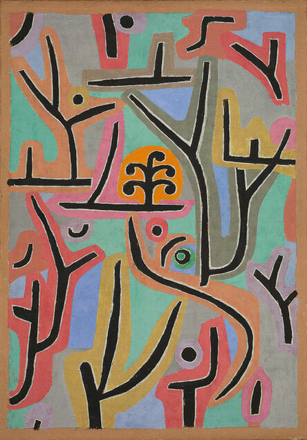 Paul Klee, 'Park near Lu', 1938