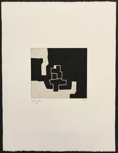 Eduardo Chillida, 'Aldizkatu II', 1972