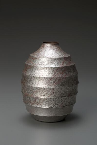 Sako Ryuhei, 'Mokume-gane Vase', 2012